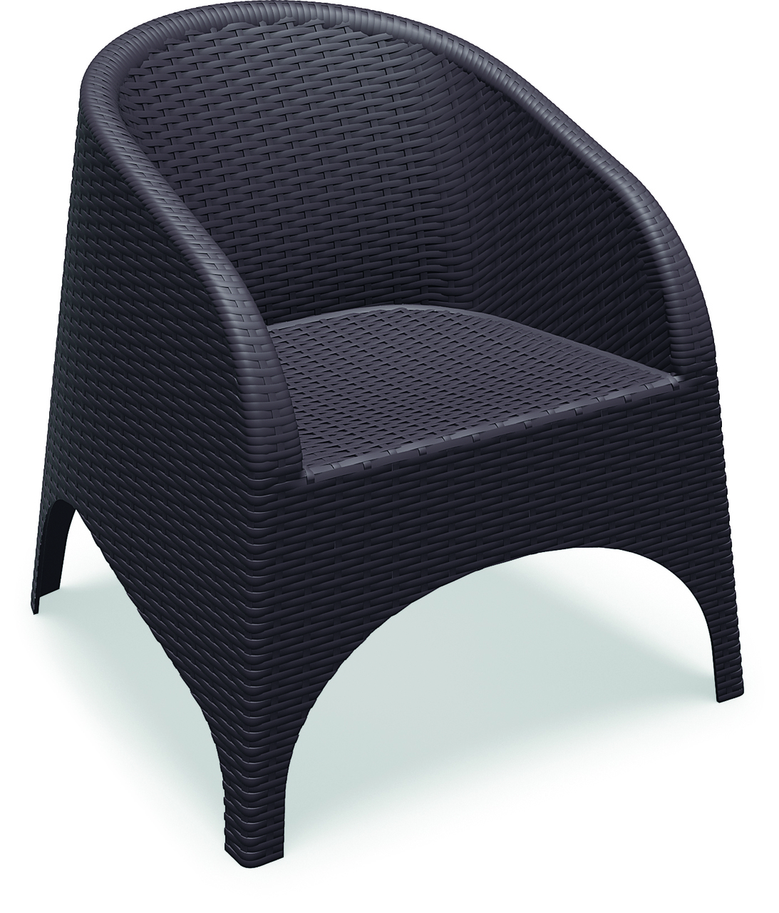 Compamia Isp Br Aruba Resin Wickerlook Chair Pack Of Image 141