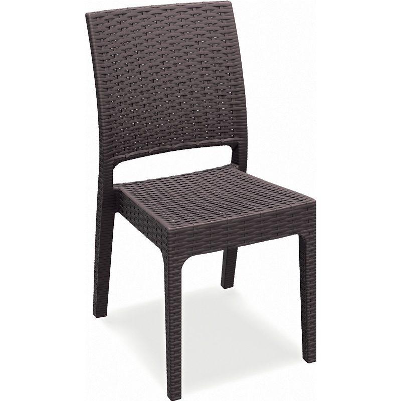 Florida Resin Wickerlook Dining Chair Set Of Two  Image 482