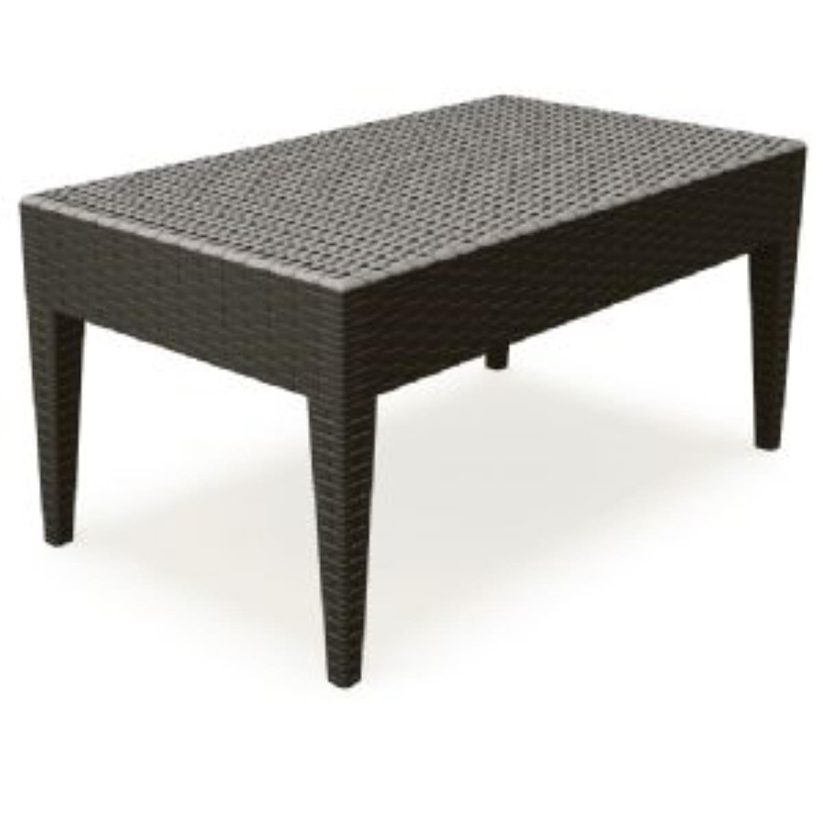 Rectangle Coffee Table Brown Photo