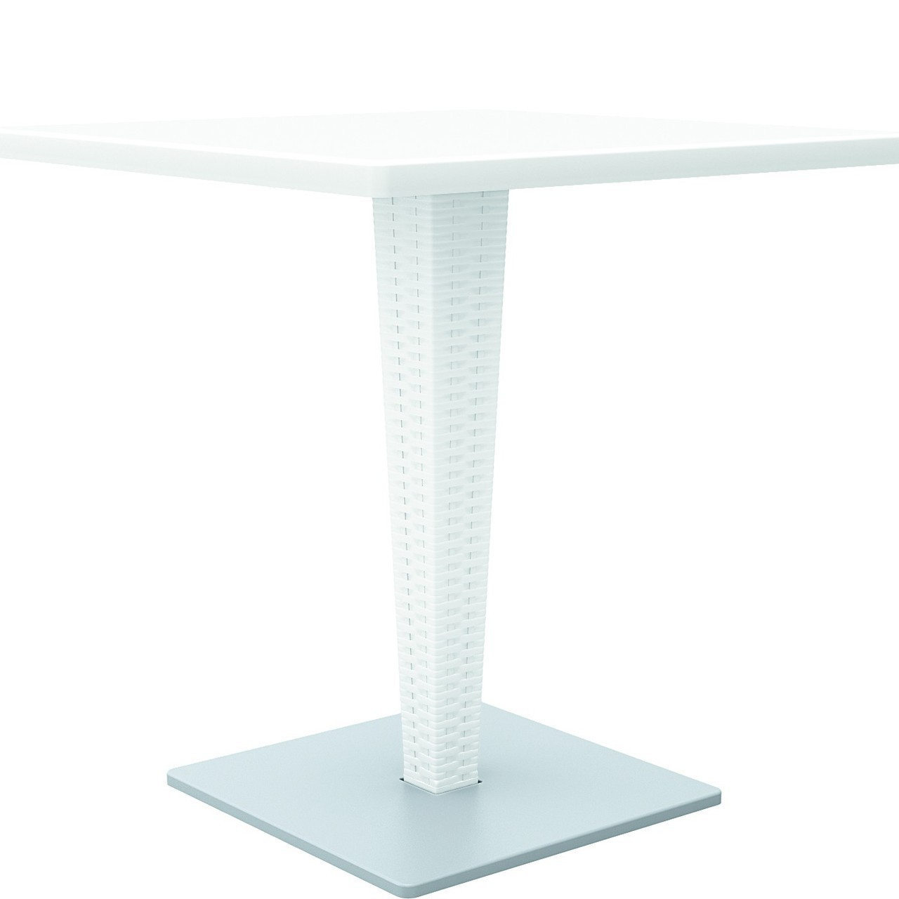 Square Top Dining Table White Photo