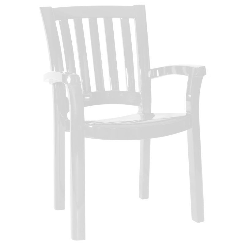 Sunshine Dining Armchair White Photo