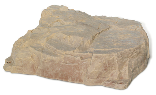 Fake Rock Septic Cover Sandstone Photo