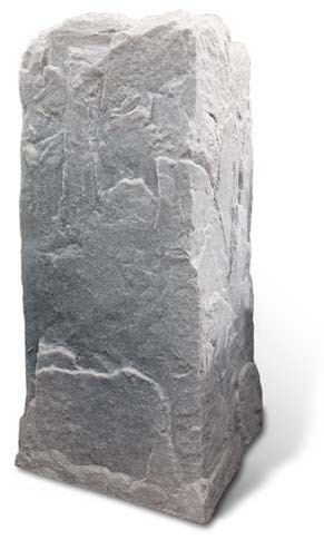 Fake Rock Pedestal Cover Fieldstone Photo