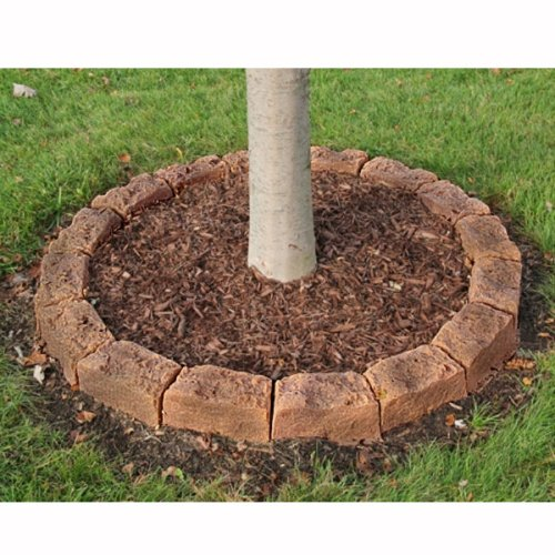 Simulated Stone Block Edging Kit Tree Ring Image 879