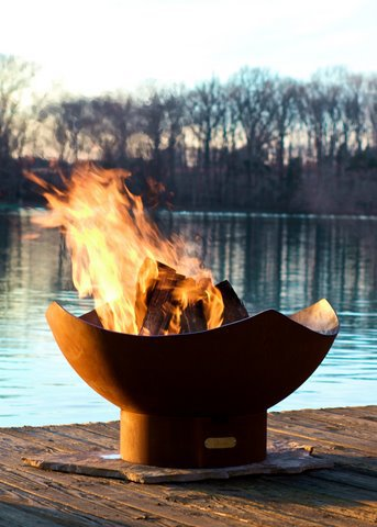 Manta Ray Fire Pit Picture 97