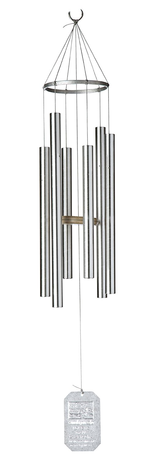Grace Note Chimes Pt Petite Himalayan Wind Chimes Silver Photo
