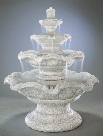 Quattro Classic Tier Outdoor Fountain Picture 23