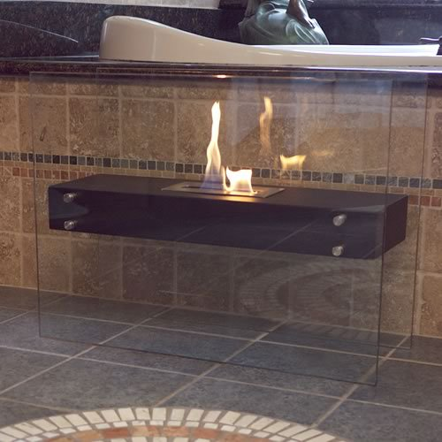 Nu Flame La Strada Ethanol Fireplace Photo