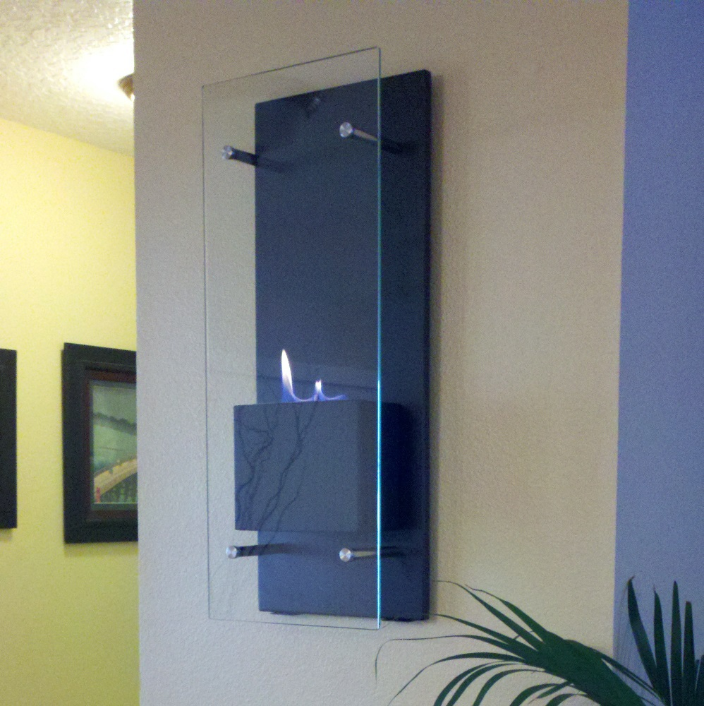 Flame Cannello Wall Mounted Fireplace Photo
