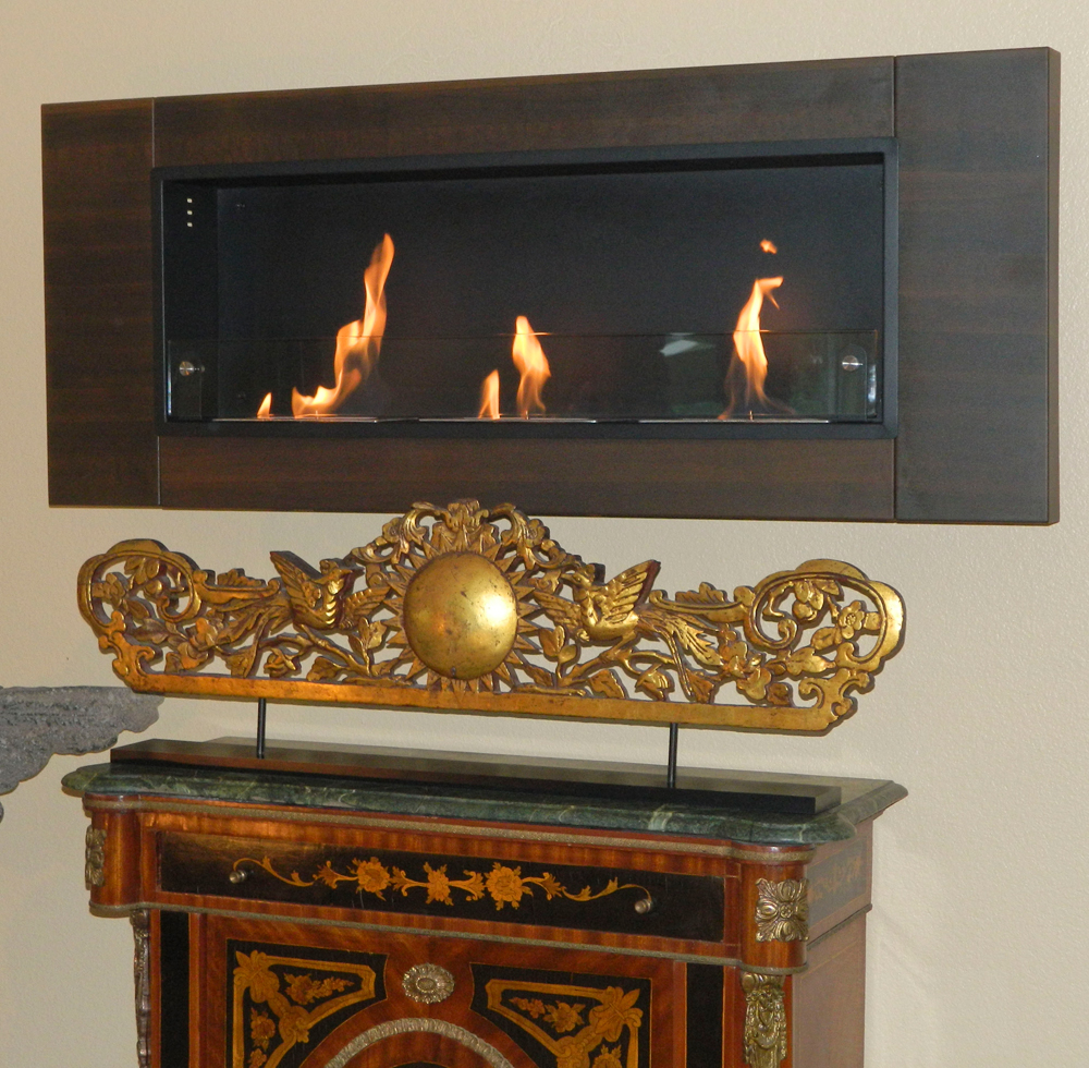 Nu Flame Finestera Tr S Wall Mounted Bio Ethanol Fireplace High Inc Picture 112