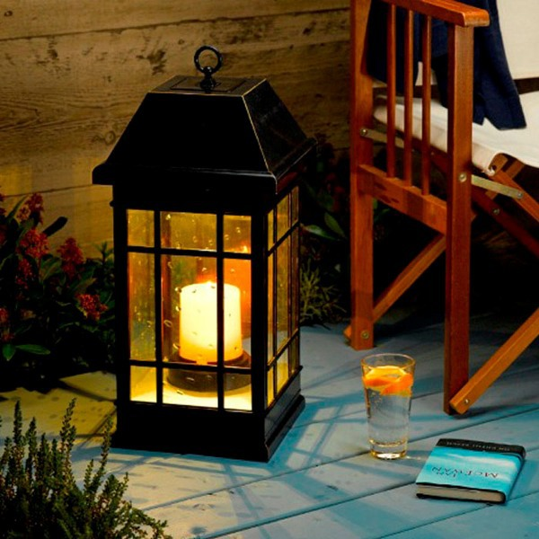 Kr San Rafael Mission Style Solar Lantern Photo