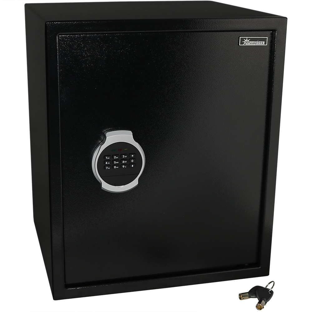 Digital Security Safe Lock Box Bolt Down Hardware Programmable Lock Home Business Travel . Photo
