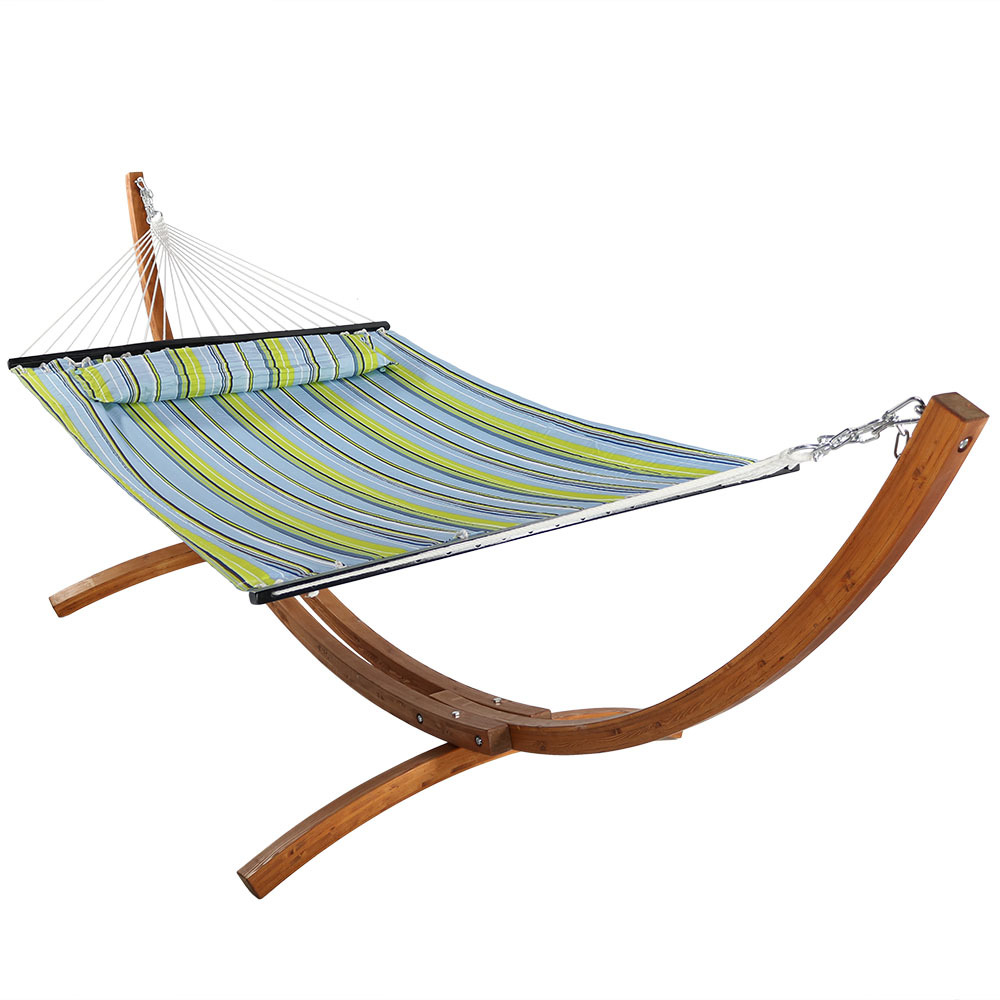 Wooden Hammock Stand Or Hammock Amp Stand Set Curved Arc