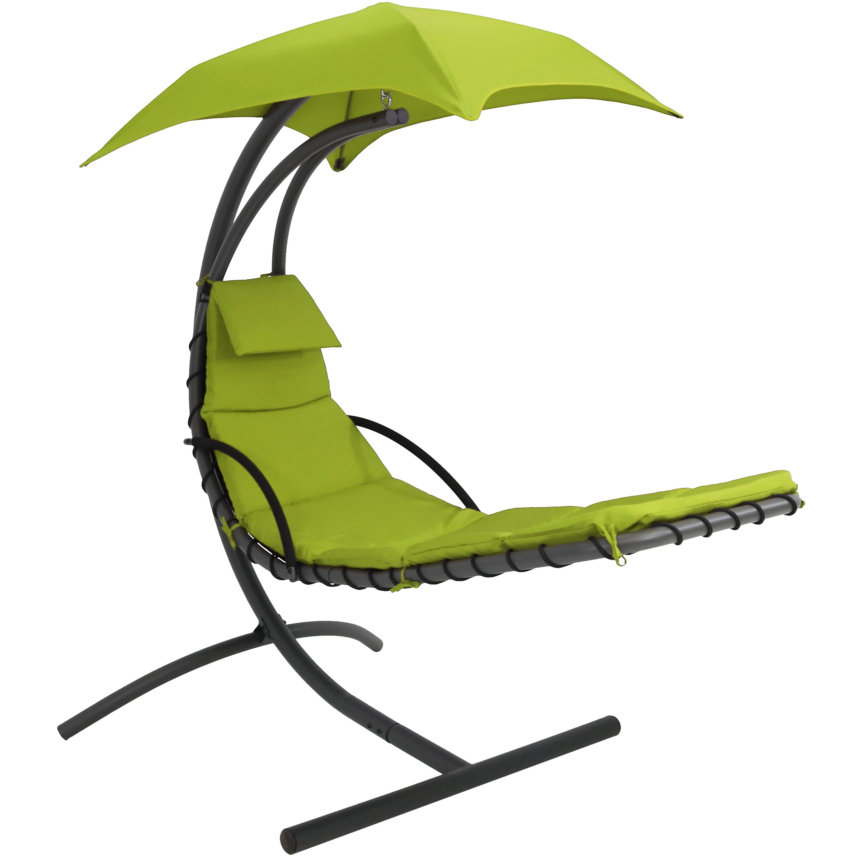 Floating Chaise Lounger Swing Chair Canopy Long Apple Green Pound Photo