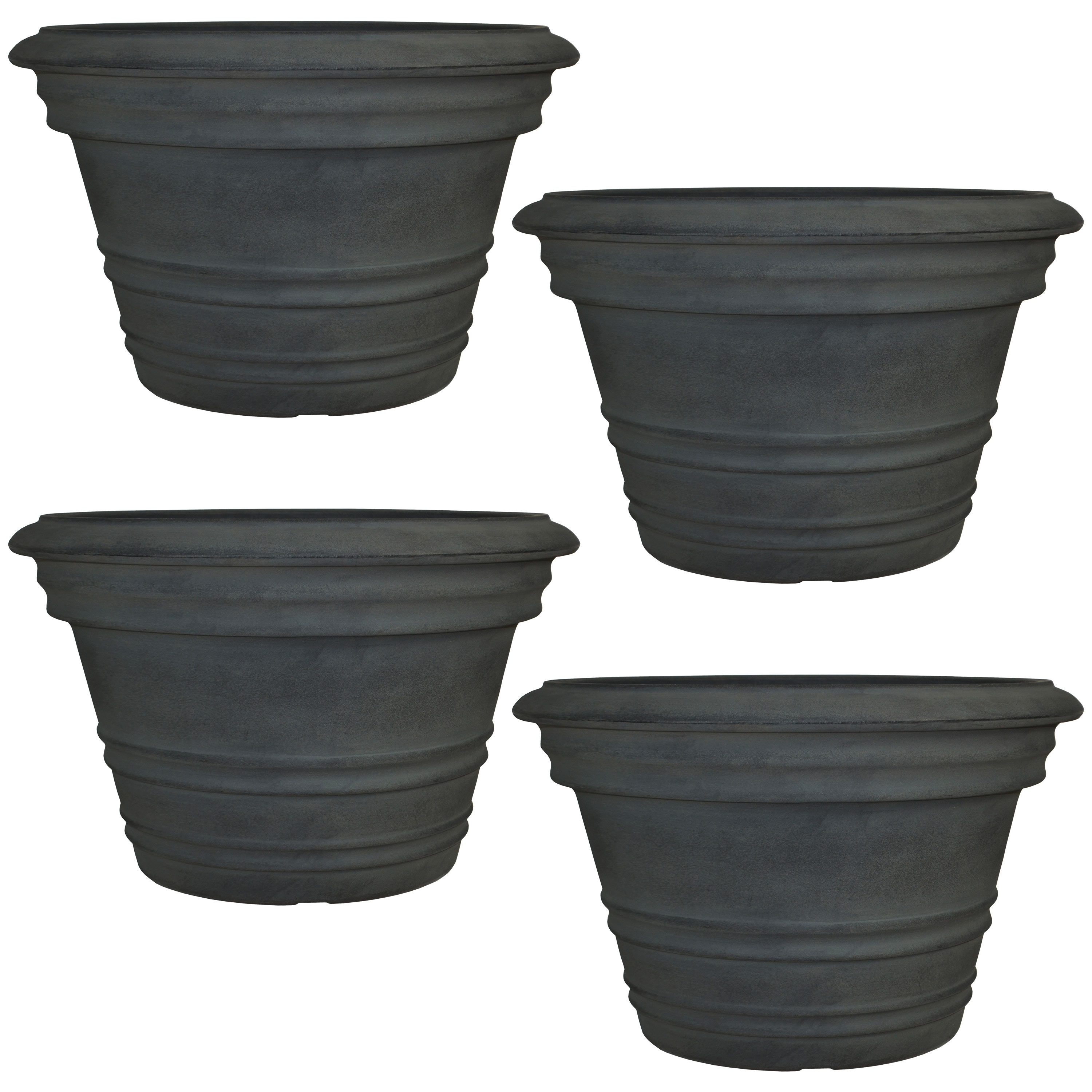 Victoria Flower Pot Planter Double Walled Fade Resistant Photo