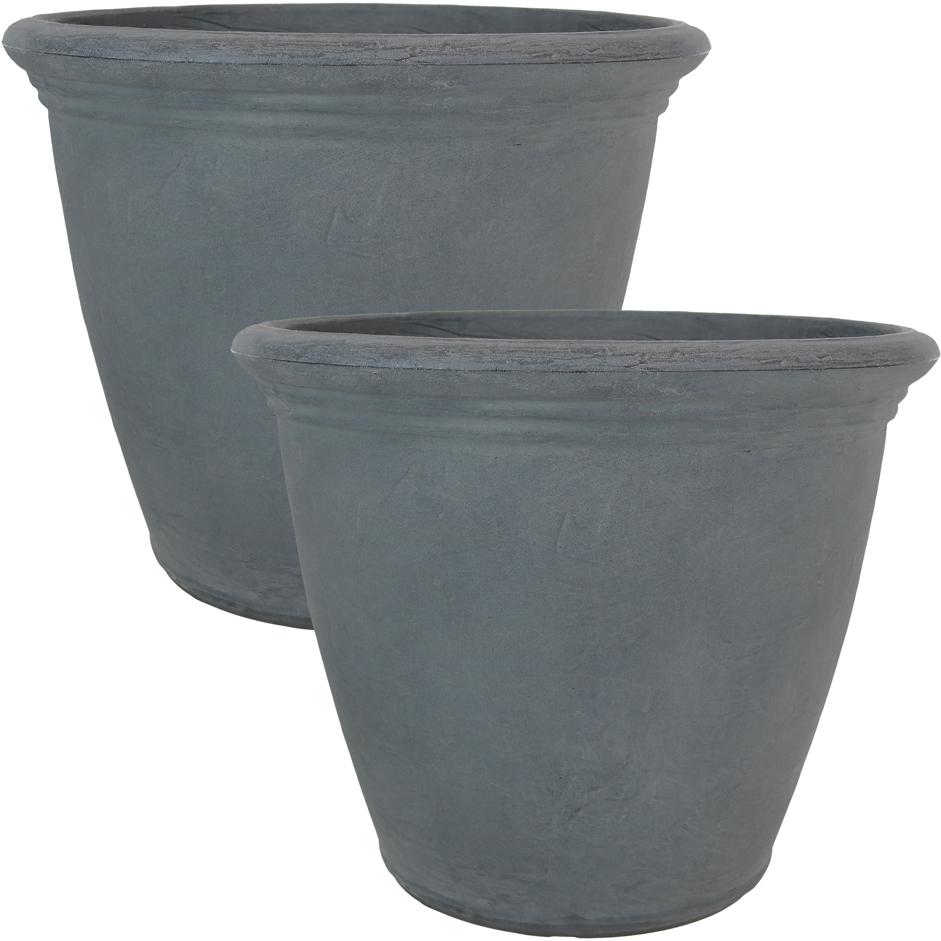 Flower Pot Planter Double Walled Slate Large Photo