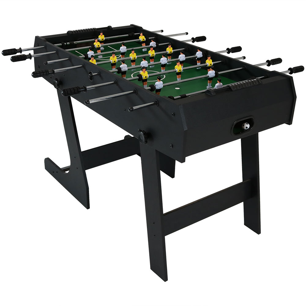 Folding Foosball Table Game Room Soccer Table Adults Kids Photo