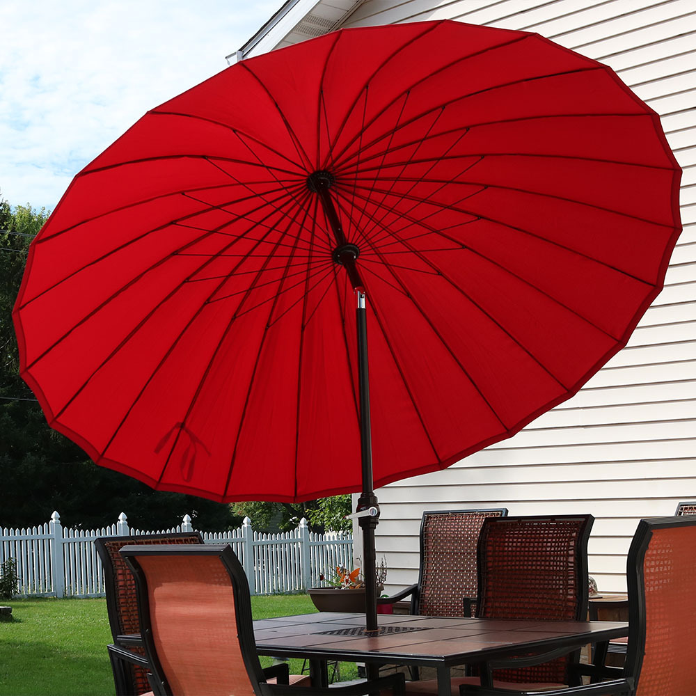 Sunnydaze Shanghai Aluminum Foot Patio Umbrella Picture 748