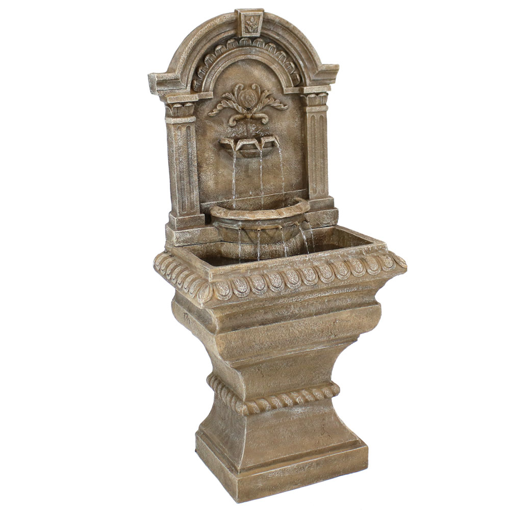 Ornate Lavello Water Fountain Patio Garden Waterfall Photo