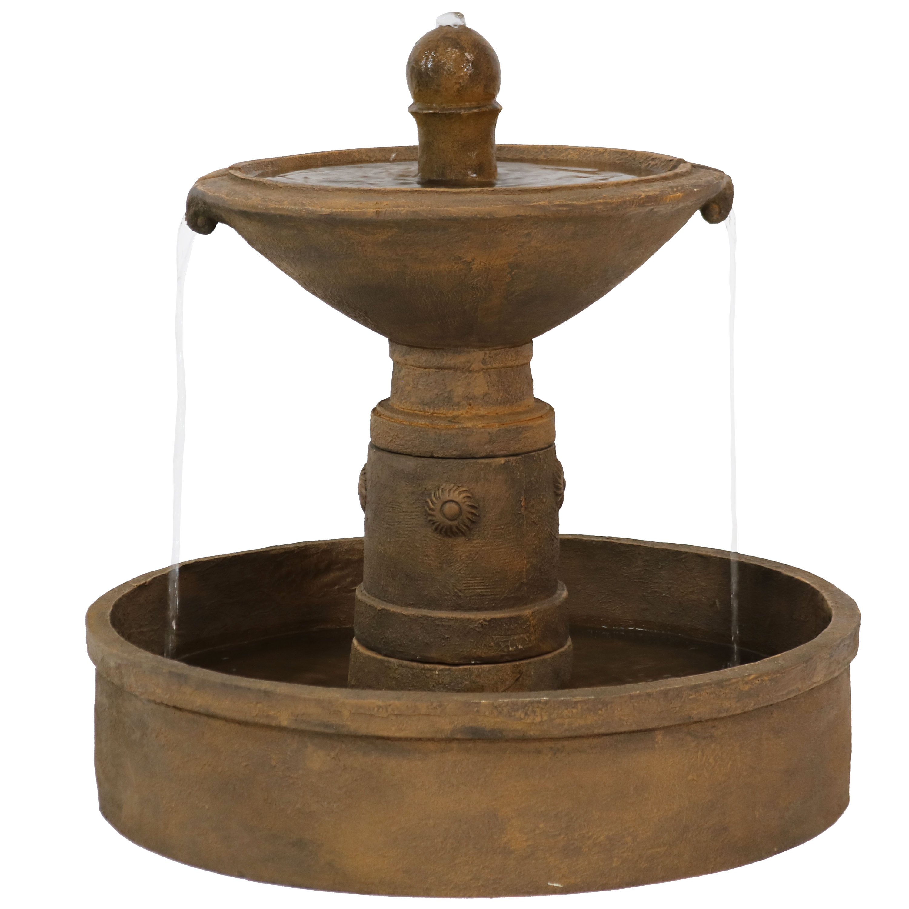 Scrolled Vessel Water Fountain Photo