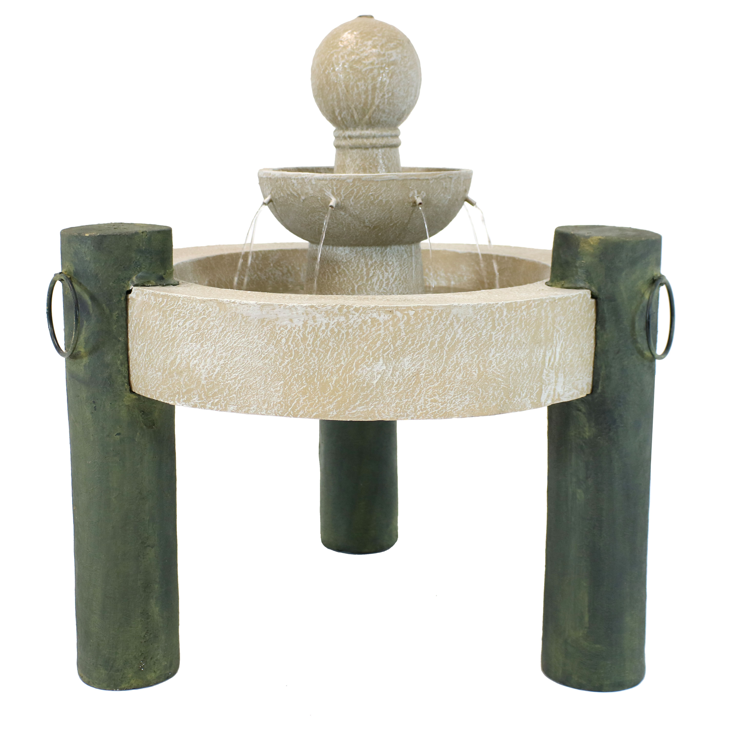 Raised Cathedral Basin Fountain Tall Photo
