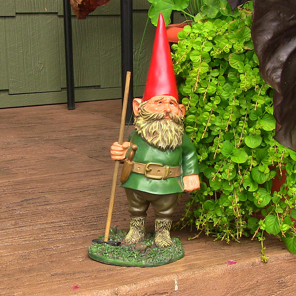 Sunnydaze Woodland Garden Gnomes Lawn Accent Decor Lightweight ...