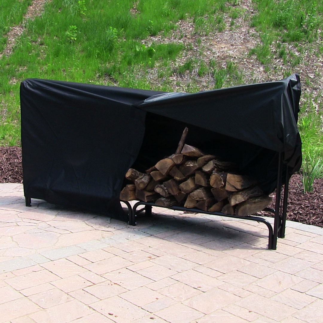 Sunnydaze Heavy Duty Firewood Log Rack Cover Foot Picture 848