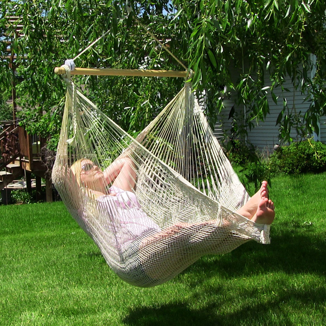 Sunnydaze Extra Large Mayan Hammock Chair Picture 441