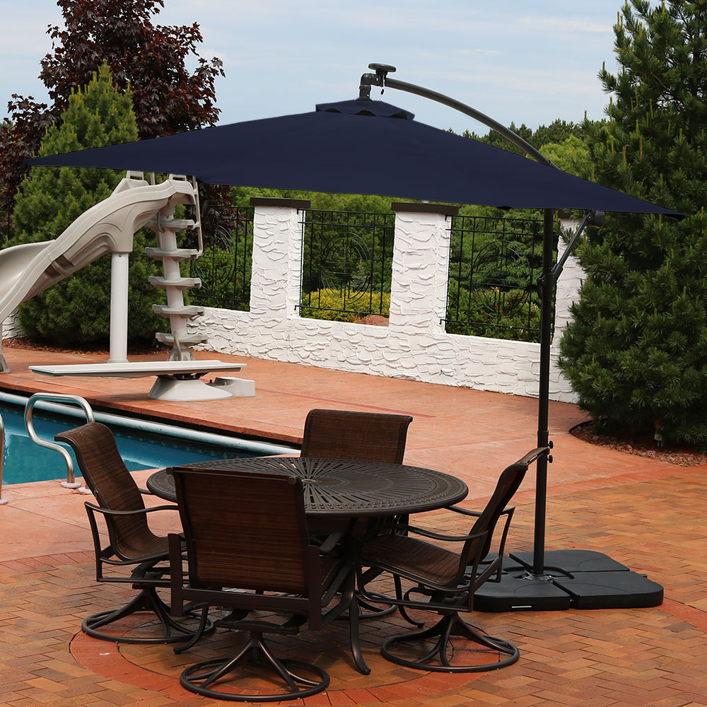umbrella nice design with solar and patio home styles in architecture ideas interior lights