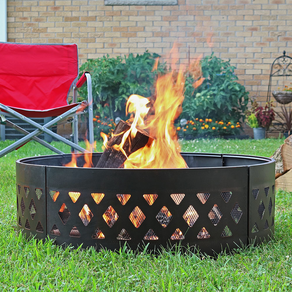Heavy Duty Crossweave Campfire Ring Picture 808