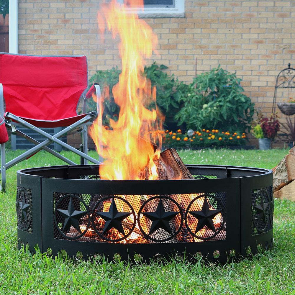 Heavy Duty Four Star Campfire Ring Diameter Picture 808