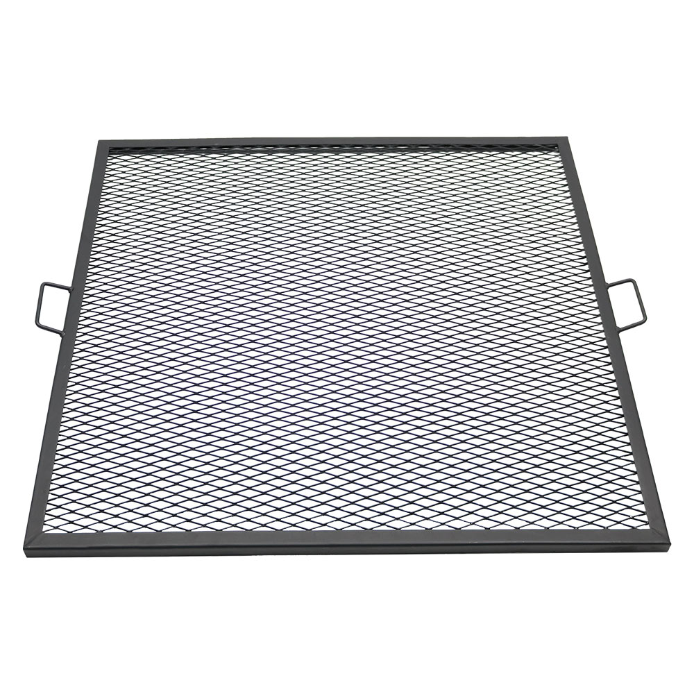 Fire Pit Cooking Grill Grate Square Bbq Campfire Grill Camping Cookware . Photo