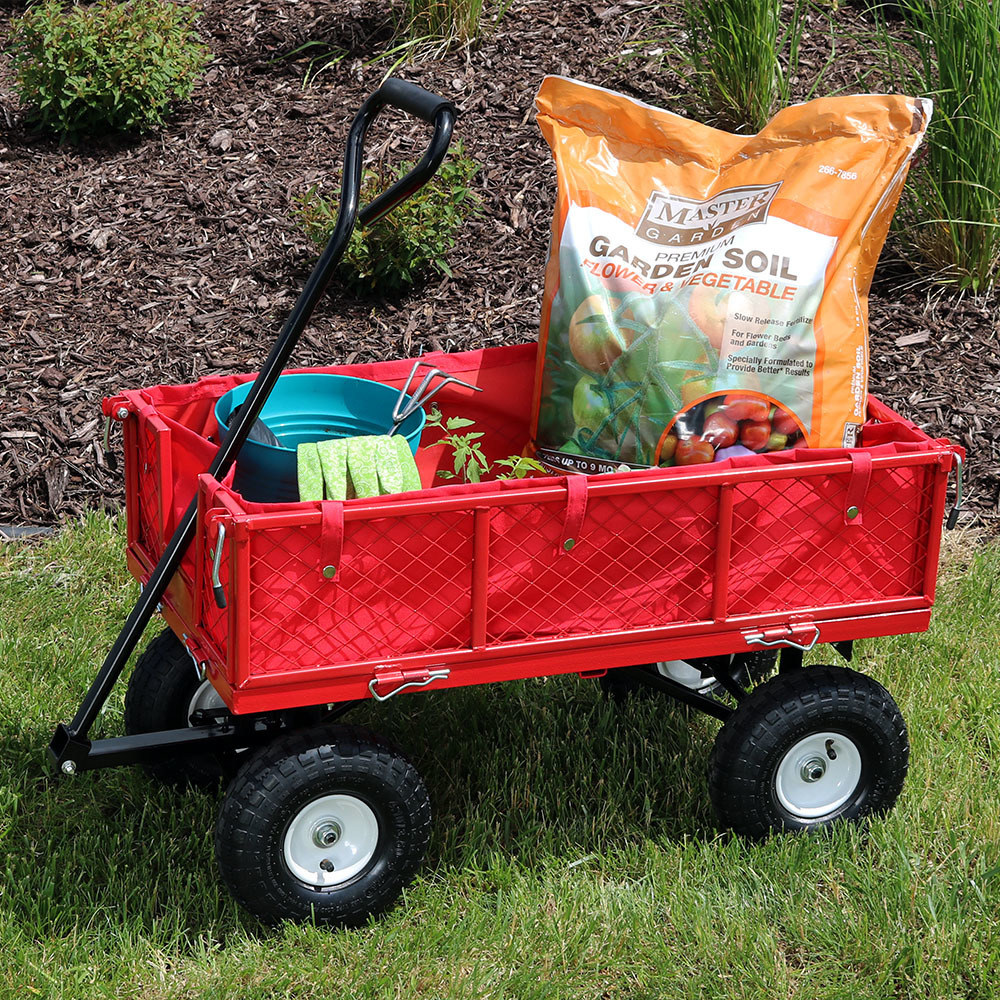 Sunnydaze Utility Cart Photo
