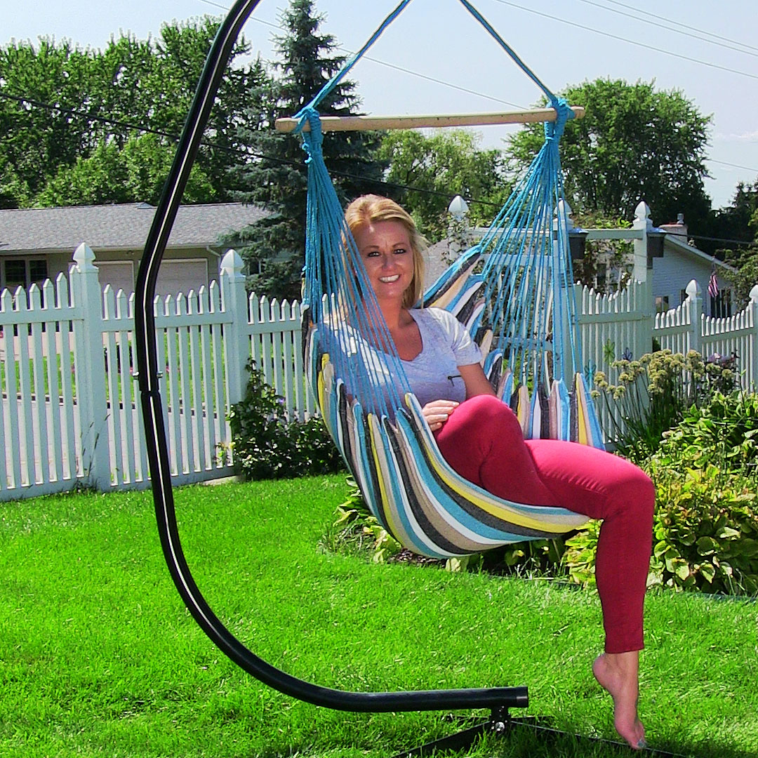 Hanging Hammock Chair Swing for Indoor/Outdoor Use, Max ...