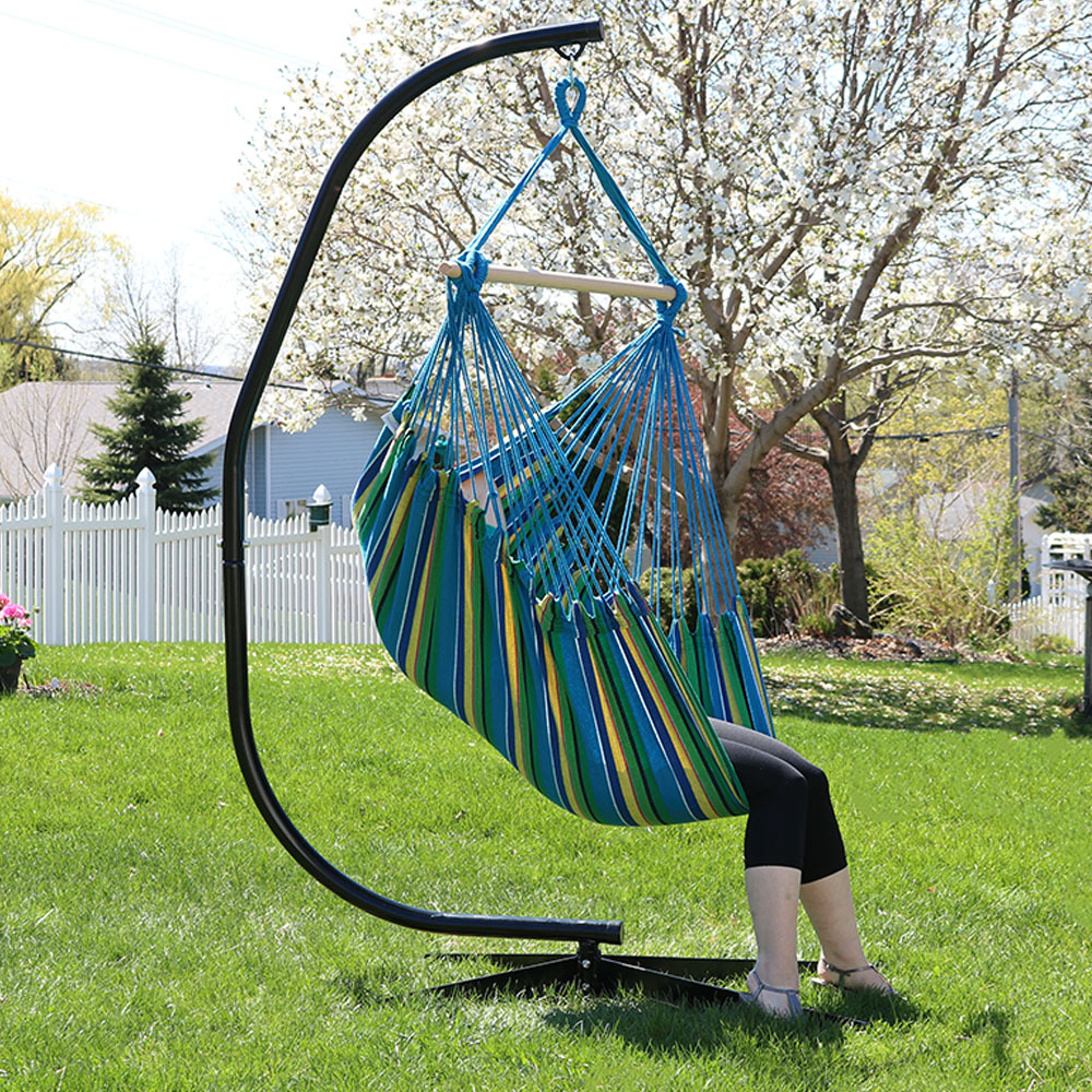 Jumbo Hanging Chair Hammock Swing Or Hammock And C Stand