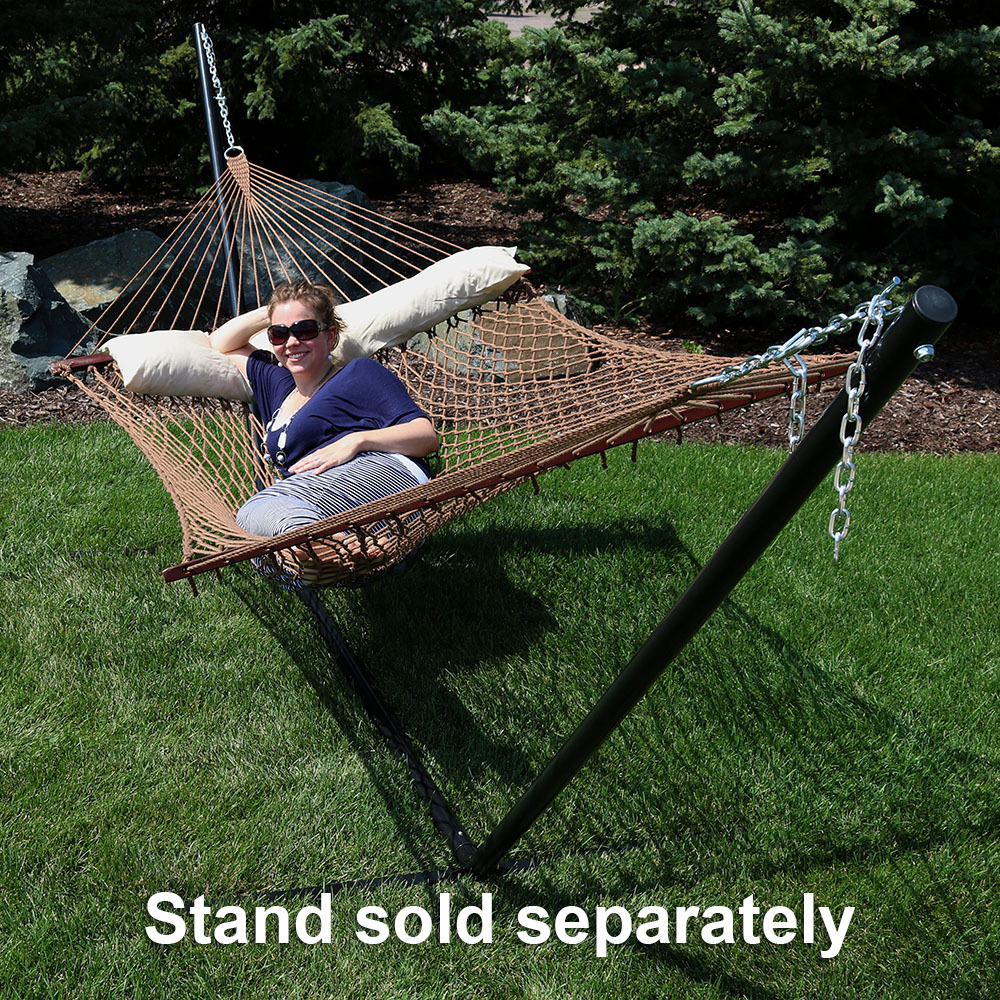 Sunnydaze Person Polyester Rope Hammock Picture 803