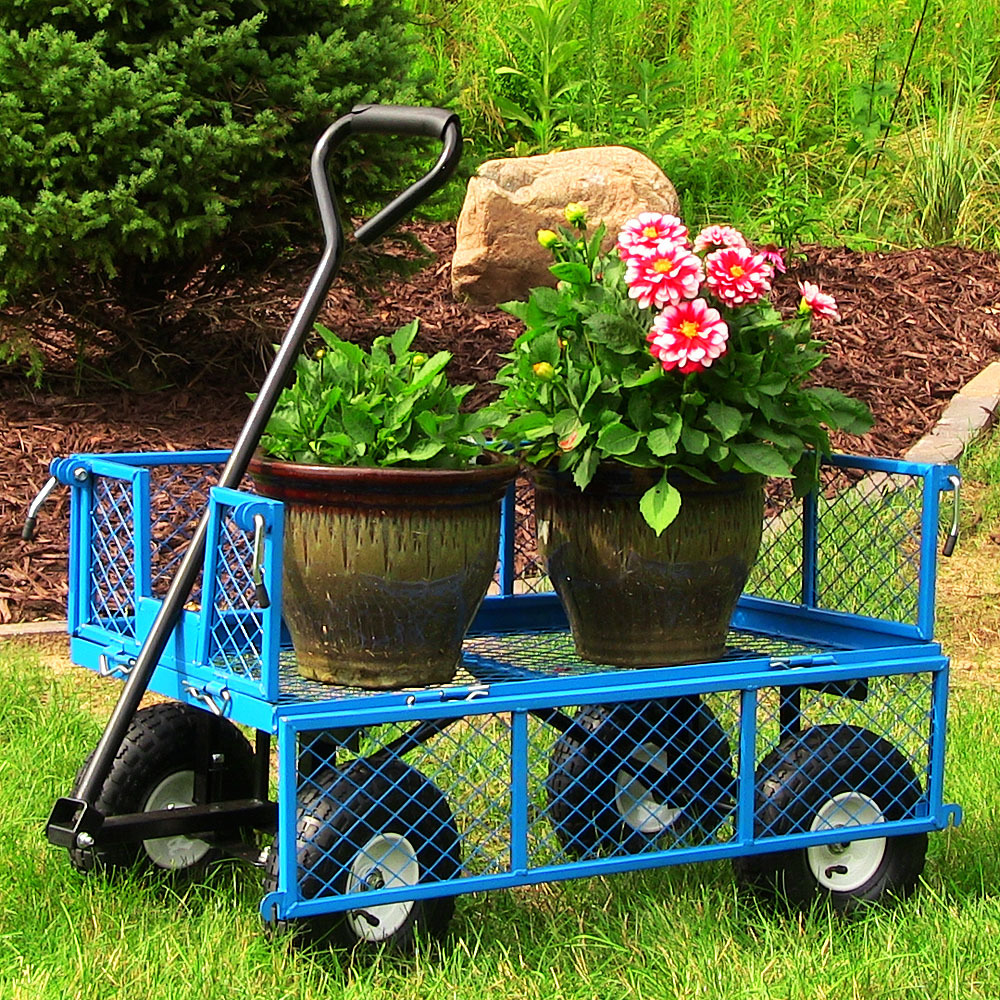 Blue Utility Gaaden Cart