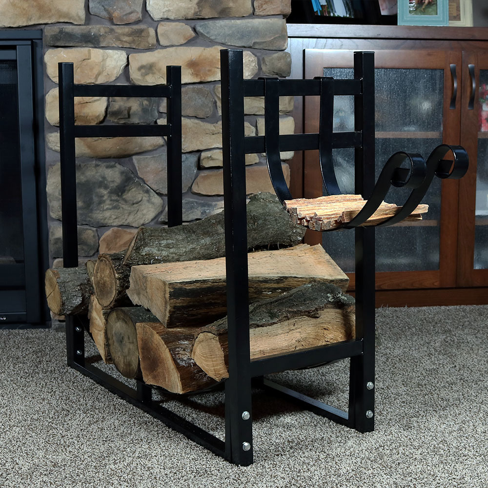 Sunnydaze Indoor Outdoor Firewood Log Rack Picture 788