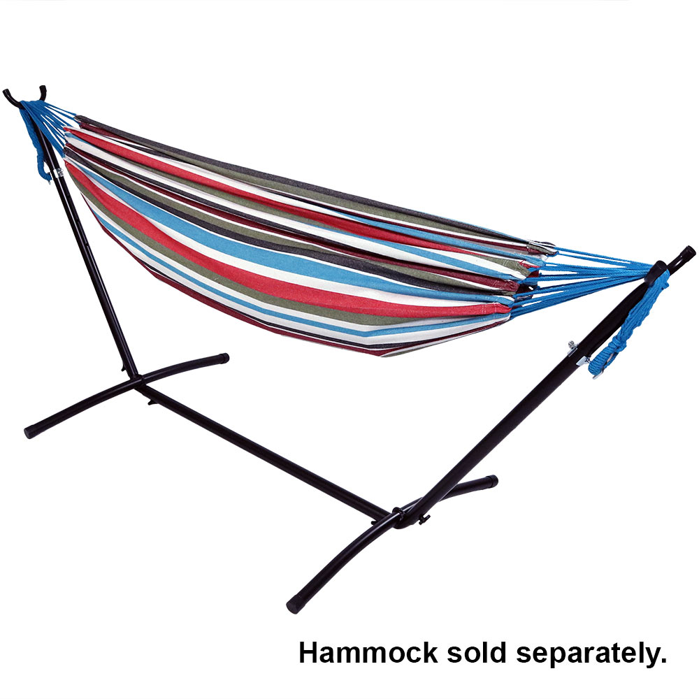 sunnydaze brazilian hammock stand 9 foot sturdy space  sunnydaze brazilian hammock stand 9 foot sturdy space saving      rh   ebay co uk
