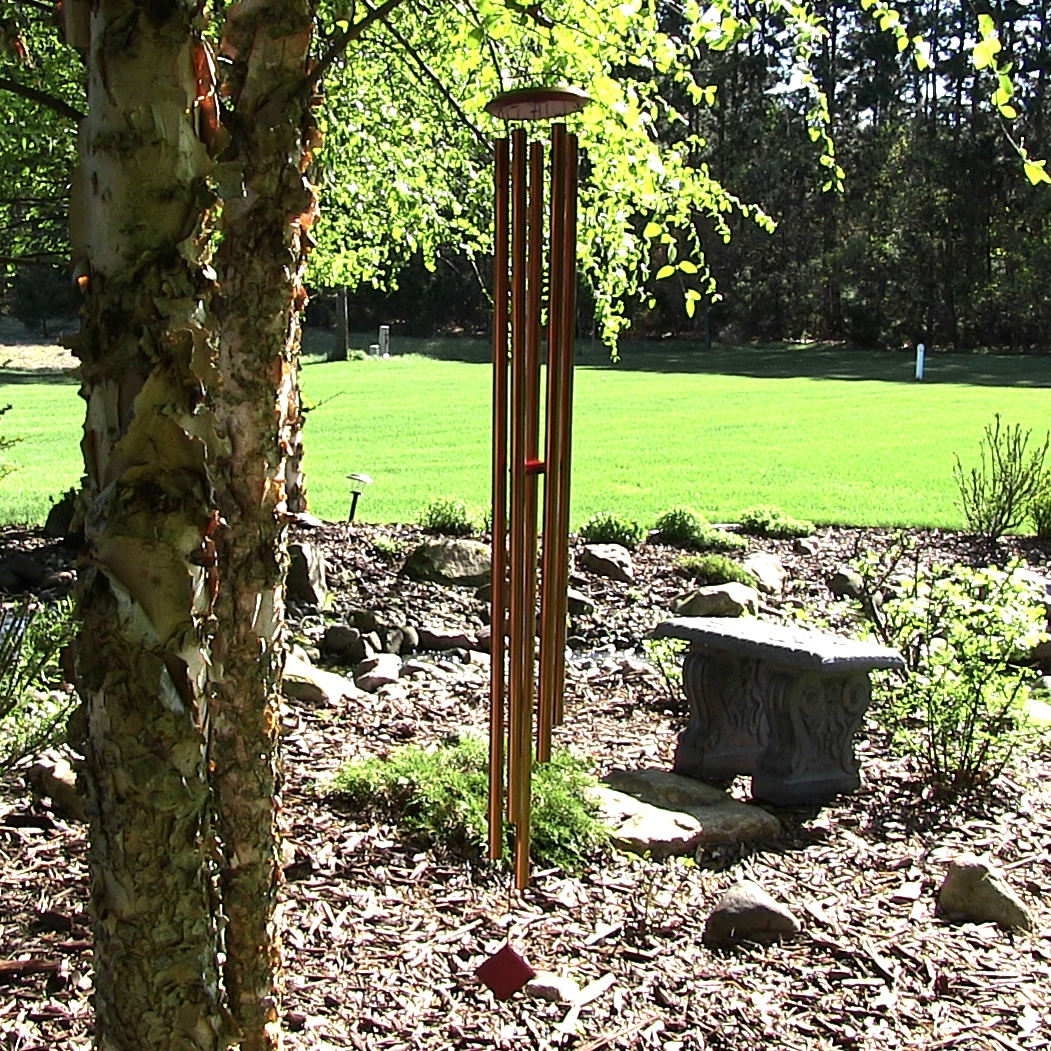Woodstock Encore Collection Bronze Chimes Of Venus Windchime Image 715