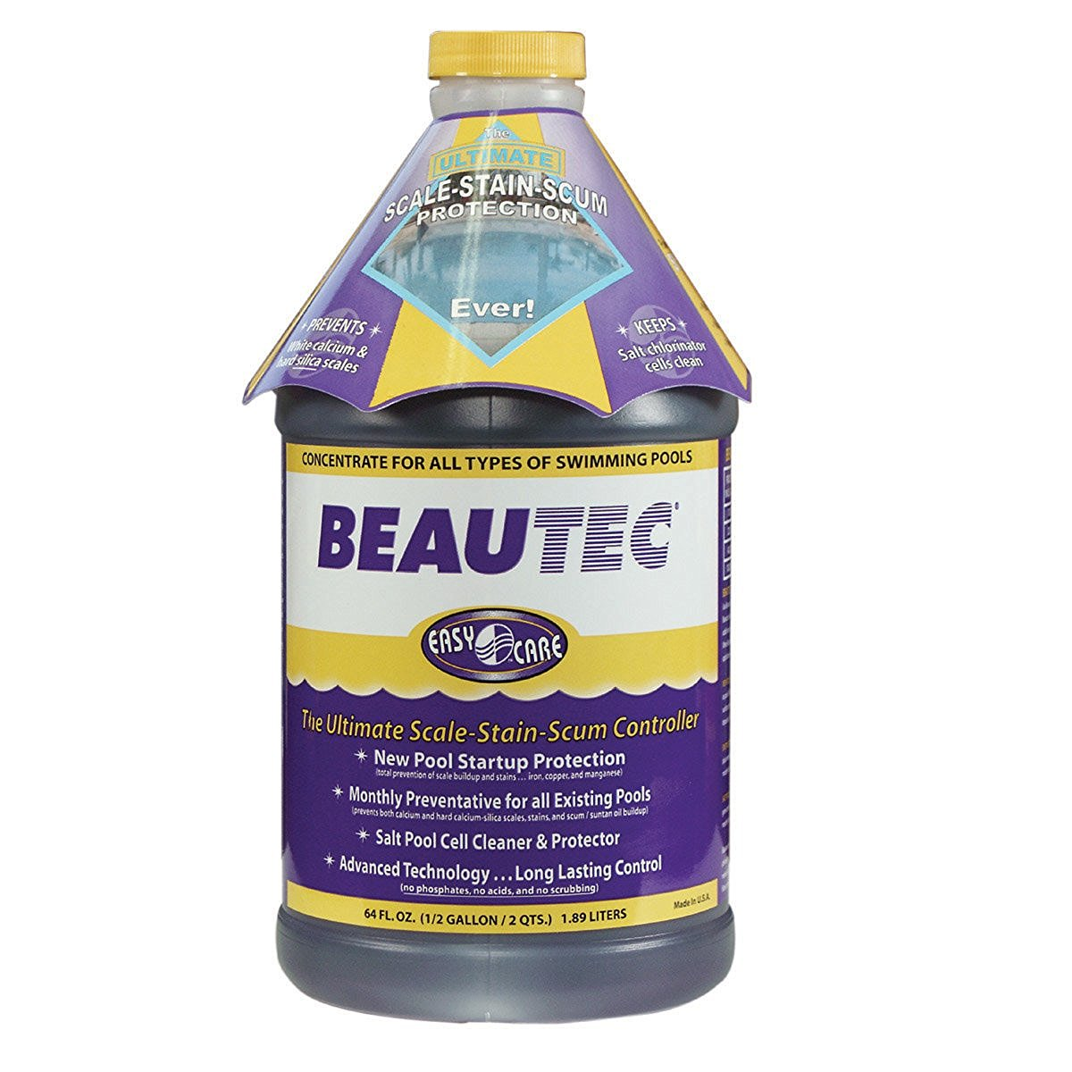 EasyCare 22064 BeauTec Salt Cell and Tile Cleaner 64 oz Bottle