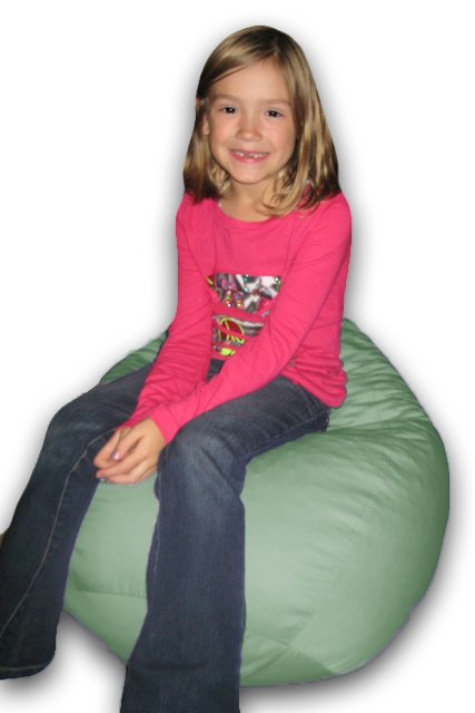 Oval Child's Beanbag Chair