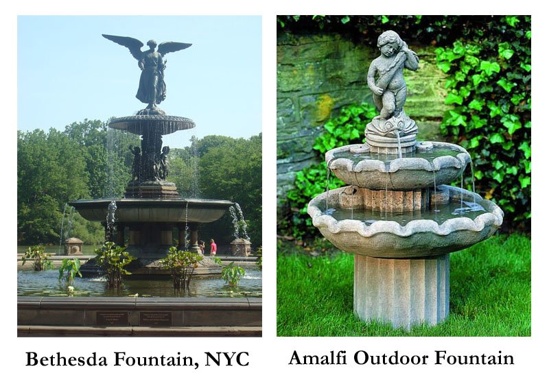 Amalfi Outdoor Water Fountain by Campamia